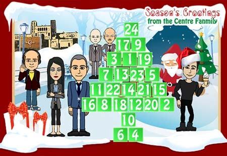 Centre Christmas Calendar