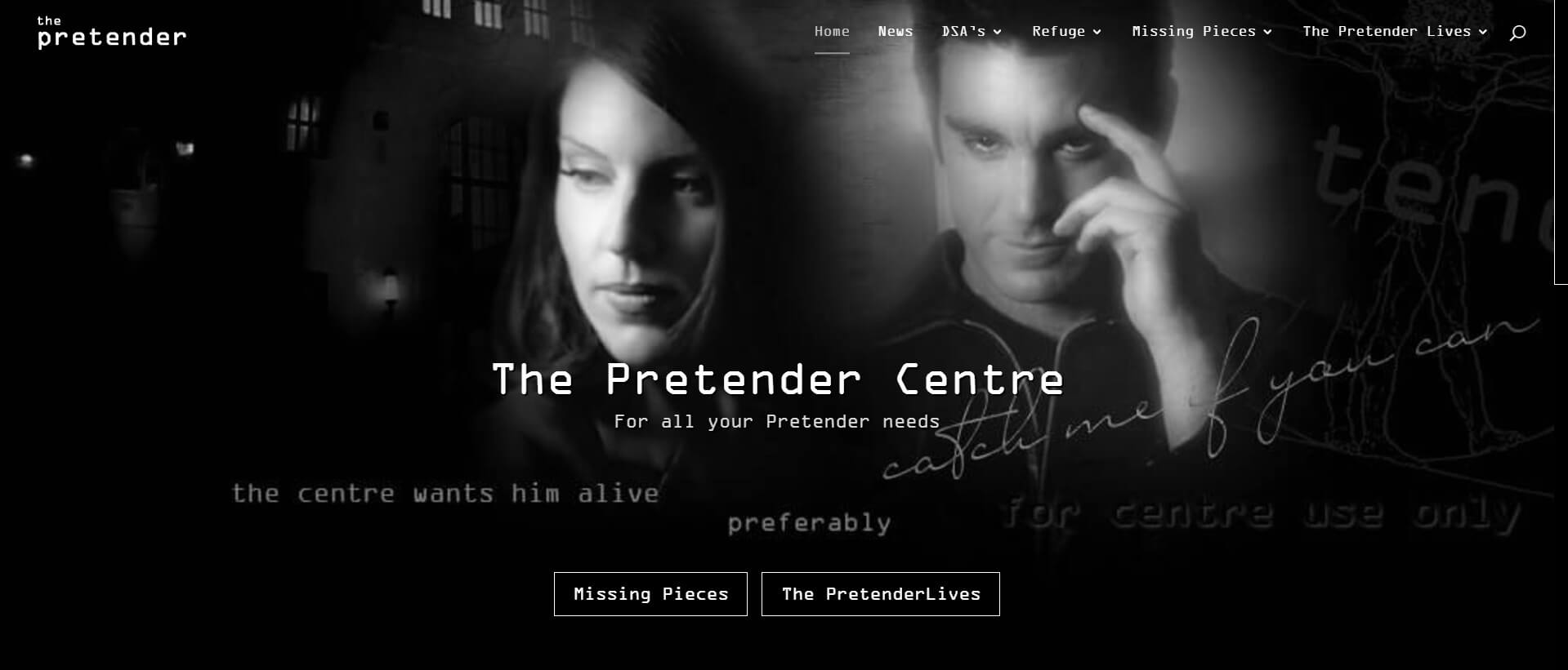 Pretender Centre